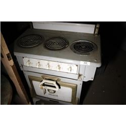 Beach 3 Burner Electric Stove (Ottawa, Canada)