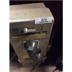 Push Button Pay Phone