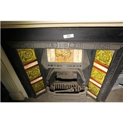 Art Nouveau Fire Place