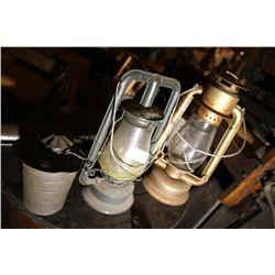 GSW Lantern, Dietz Lantern & Davidson Tin