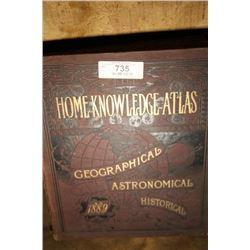 Home Knowledge Atlas (1889)