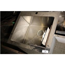 Stainless Kitchen Sink (Sink Only)