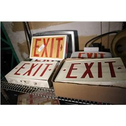 5 Exit Signs