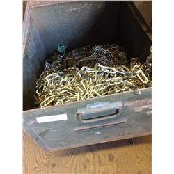 Bin Of Various Chains