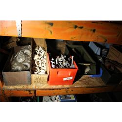 Various Bins Of Electrical & Plumbing Parts