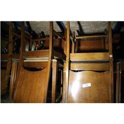 8 Wood Chairs