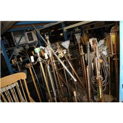 Large Assortment Of Floor Lamps