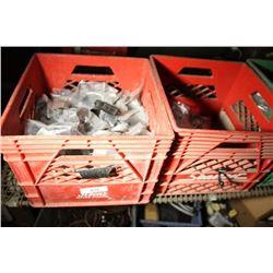 7 Crates Of Furniture Hardware
