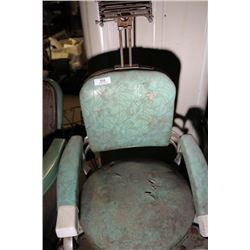 Green Barbers Chair