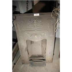 Cast Iron Fire Place Insert