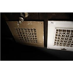 2 Cast Electric Wall Registers