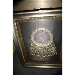 Framed Hand Made Breast Plate