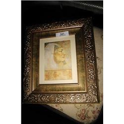 Framed Egyptian Print