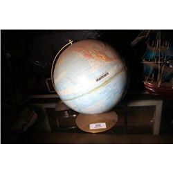 McLeans Vintage World Globe