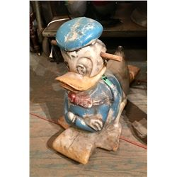 Vintage Donald Duck Rocker