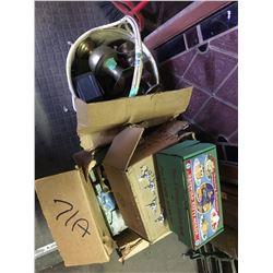 Box Lot of Msc Goods