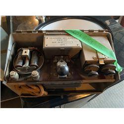 Vintage Military Phone/Radio