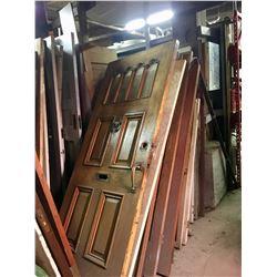 Over 200 Unique Wooden Reclaimed/Antique Doors
