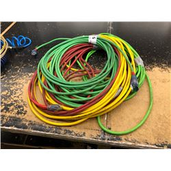 LOT OF ASSORTED EXTENSION CORD