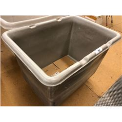 LARGE GREY PLASTIC WAREHOUSE BIN