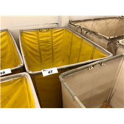 YELLOW RUBBER WAREHOUSE BIN