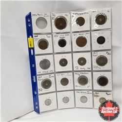 Foreign Coins (20): Various Countries