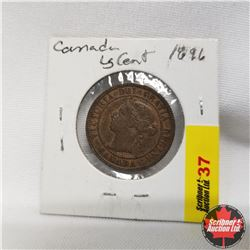 Canada Large Cent 1896