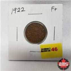 1922 Canada 1¢