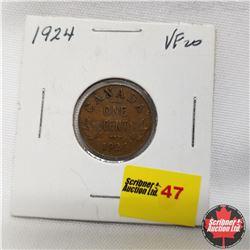 1924 Canada 1¢