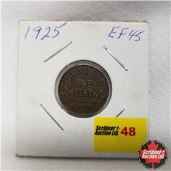 1925 Canada 1¢