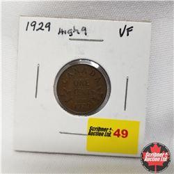 1929 Canada 1¢  High 9
