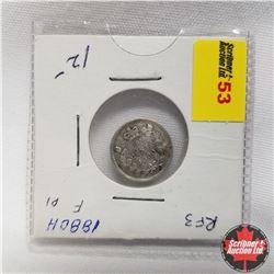 1880H Canada 5¢ Silver