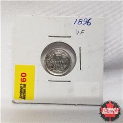1896 Canada 5¢ Silver