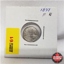 1897 Canada 5¢ Silver