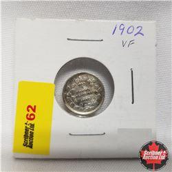 1902 Canada 5¢ Silver