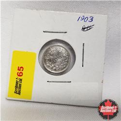 1903 Canada 5¢ Silver