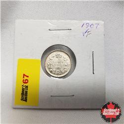 1907 Canada 5¢ Silver