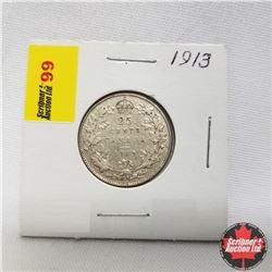 1913 Canada 25¢