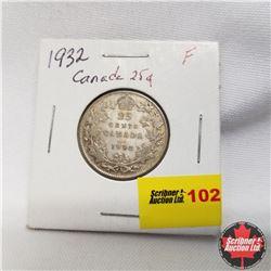 1932 Canada 25¢