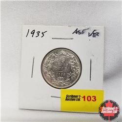 1935 Canada 25¢