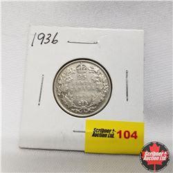 1936 Canada 25¢