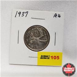 1937 Canada 25¢