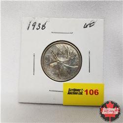 1938 Canada 25¢
