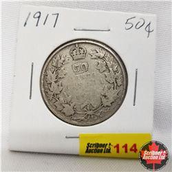 1917 Canada 50¢
