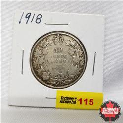 1918 Canada 50¢
