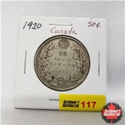1920 Canada 50¢