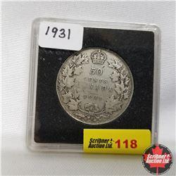1931 Canada 50¢