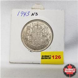 1943 Canada 50¢  Near 3