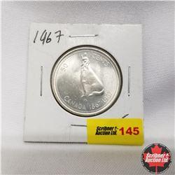 1967 Canada 50¢