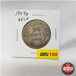 1904H Newfoundland 50¢ Silver